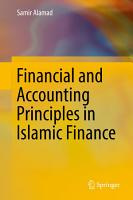 Financial and Accounting Principles in Islamic Finance PDF