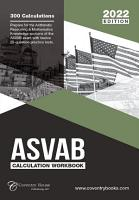 ASVAB Calculation Workbook  300 Questions to Prepare for the ASVAB Exam  2021 Edition  PDF
