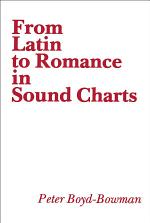 From Latin to Romance in Sound Charts