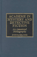 Academe in Mystery and Detective Fiction