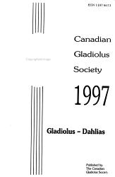 Gladiolus  Dahlias PDF
