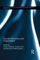 Counter Narratives and Organization PDF