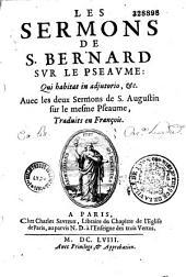 "Les sermons sur le psaume : ""qui habitat in adjutorium"""