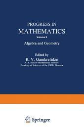 Progress in Mathematics: Algebra and Geometry