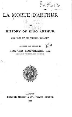 Morte D Arthur PDF