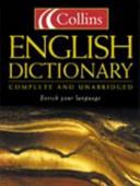 Collins English Dictionary PDF