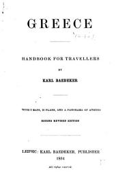 Greece: Handbook for Travellers