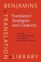 Translators  Strategies and Creativity PDF