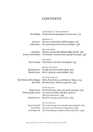 The Georgian Group Journal