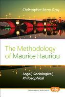 The Methodology of Maurice Hauriou PDF