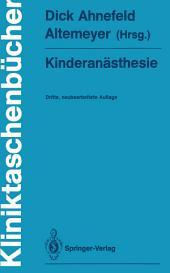Kinderanästhesie: Ausgabe 3