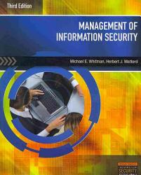 Management Of Information Security Book PDF