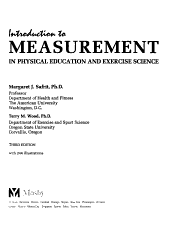 Introduction to Measurement in Physical Education and Exercise Science PDF
