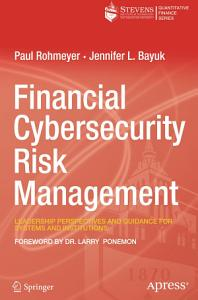 Financial Cybersecurity Risk Management Book
