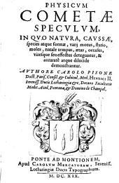 Physicum Cometae speculum