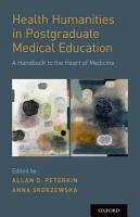 Health Humanities in Postgraduate Medical Education PDF