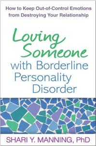 Loving Someone with Borderline Personality Disorder Book