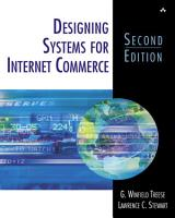Designing Systems for Internet Commerce PDF