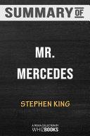 Summary of Mr  Mercedes PDF