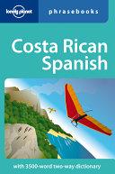 Costa Rican Spanish PDF