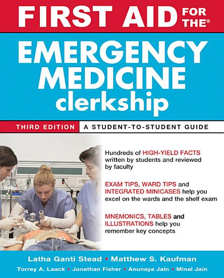 First Aid for the Emergency Medicine Clerkship  Third Edition PDF
