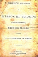 Organization and Status of Missouri Troops PDF