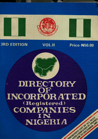 Directory of Incorporated  registered  Companies in Nigeria