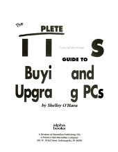 The Complete Idiot s Guide to Buying and Upgrading PCs PDF