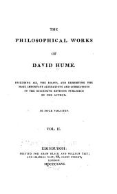 The Philosophical Works of David Hume ...