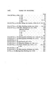 Woolrych's Metropolitan Building Acts, 1855 to 1882: Together with Such Clauses of the Metropolitan Management Acts as More Particularly Relate to the Building Acts, with Notes and Forms