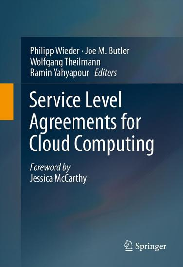 Service Level Agreements for Cloud Computing PDF