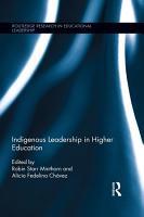 Indigenous Leadership in Higher Education PDF