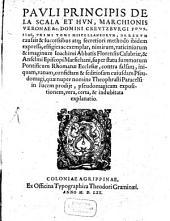 Vaticinorum et imaginum Ioachimi Abbatis Florensis Calabriae, & Anselmi Episcopi Marsichani ... explanatio