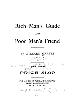 Rich Man s Guide and Poor Man s Friend