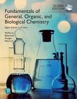 Fundamentals of General  Organic and Biological Chemistry in SI Units PDF