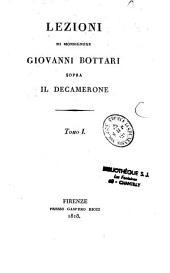 Lezioni di Monsignore Giovanni Bottari sopra il decamerone