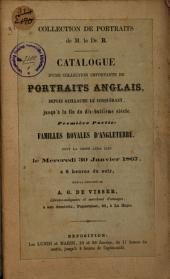 Veilingcatalogus, boeken van Dr R., 30 januari 1867