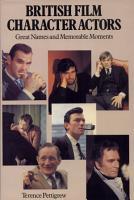 British Film Character Actors PDF