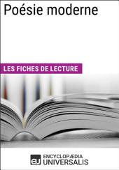 Poésie moderne: Les Fiches de lecture d'Universalis