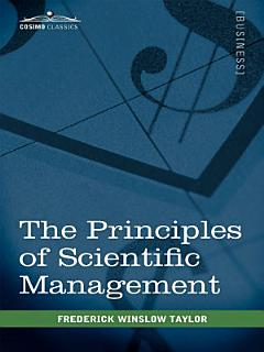 The Principles of Scientific Management Book