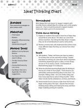 Writing Lesson Level 2--Ideas Thinking Chart