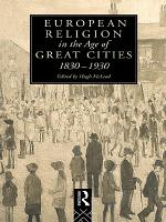 European Religion in the Age of Great Cities