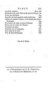 Voyages d'un naturaliste, et ses observations faites sur les trois regnes de la nature, dans plusieurs ports de mer français, en Espagne, au continent de l'Amerique septentrionale, à Saint-Yago de Cuba, etc: Volume1