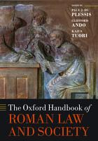 The Oxford Handbook of Roman Law and Society PDF