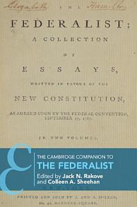 The Cambridge Companion to the Federalist Papers PDF