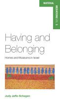Having and Belonging PDF