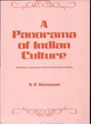A Panorama Of Indian Culture Book PDF