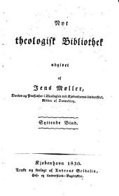 Nyt theologisk bibliothek: Bind 17–18