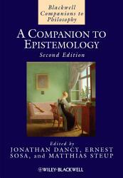 A Companion to Epistemology PDF