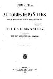 Escritos de Santa Teresa: Volumen 53
